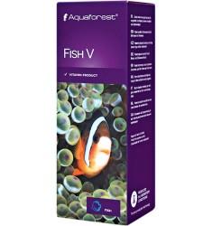 Aquaforest Fish V 50 мл Комплекс витаминов для морских и пресноводных рыб