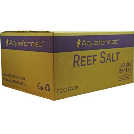 Reef salt 25 кг Морская Рифовая соль Aquaforest