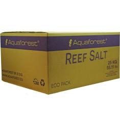 Aquaforest Reef salt 25 кг Морская Рифовая соль