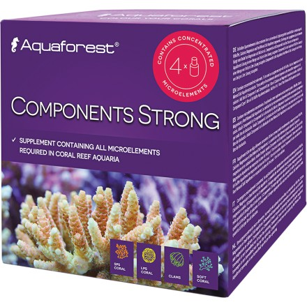 Aquaforest Components Strong 4*50 мл