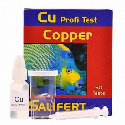 Copper Profi Test Профессиональный тест Salifert На медь (Cu)