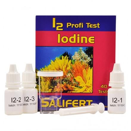 Iodine Profi Test Профессиональный тест Salifert на йод (I2)
