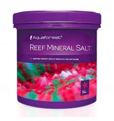 Aquaforest Reef mineral salt 400 г Рифовая минеральная соль для аквариума