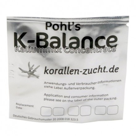 Korallen Zucht Automatic Elements Pohl's K-Balance Potassium Concentrate 1 шт
