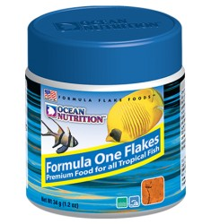 Formula 1 Flake Корм для морских рыб Ocean Nutrition Хлопья Формула 1 - 34 г