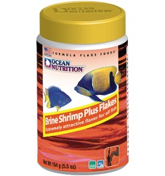 Brine Shrimp Plus Flake Корм для морских рыб Ocean Nutrition Хлопья - Артемия Плюс 156 г