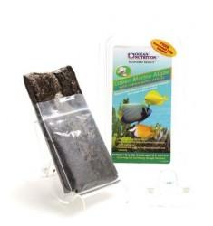 Green Seaweed Зеленые морские водоросли с экстрактом чеснока в пакете Ocean Nutrition с клипсой для кормления 30г